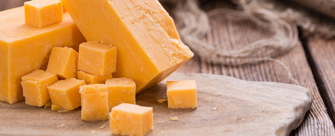 Cheddar, un queso muy especial
