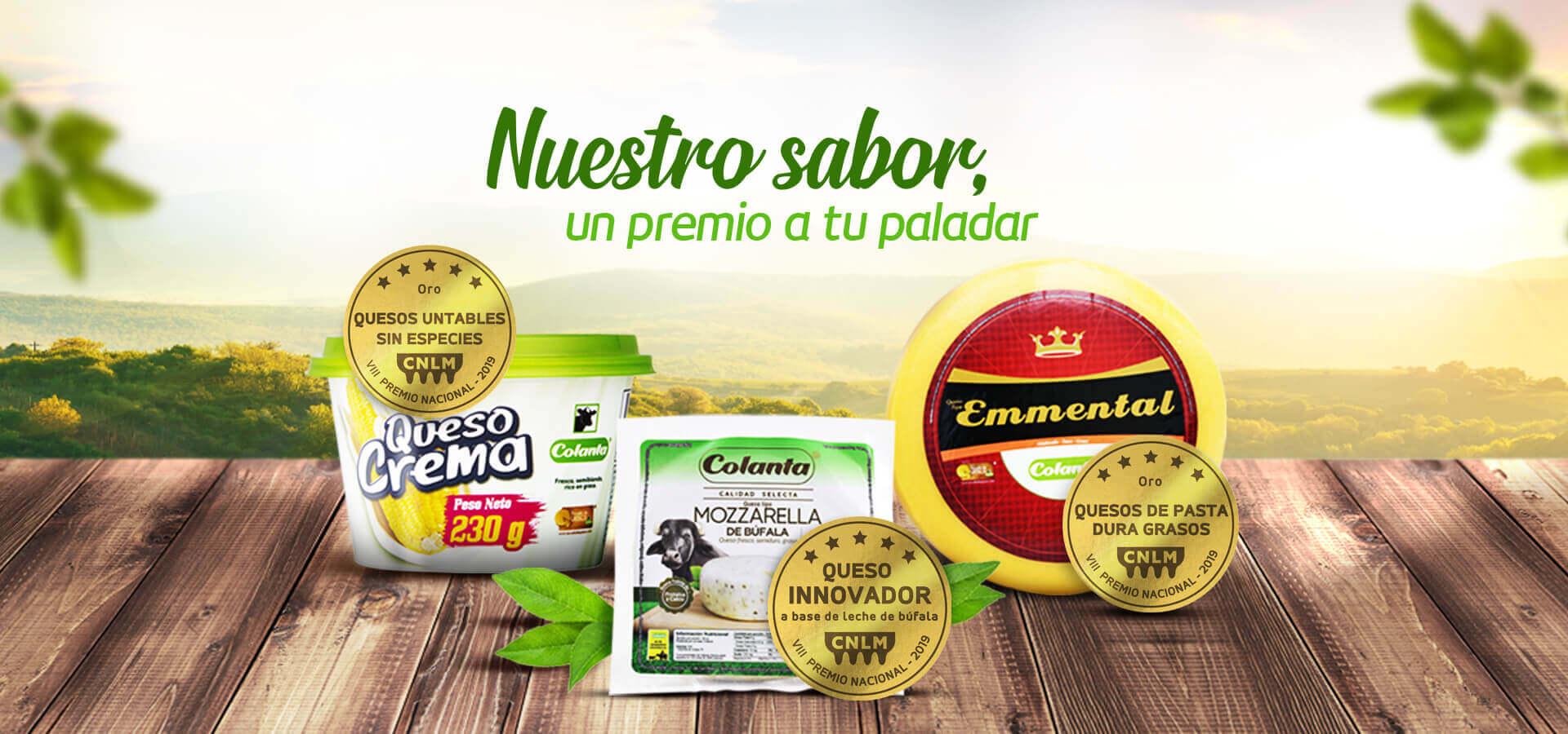 quesos colanta premios concurso quesos madurados frescos untables