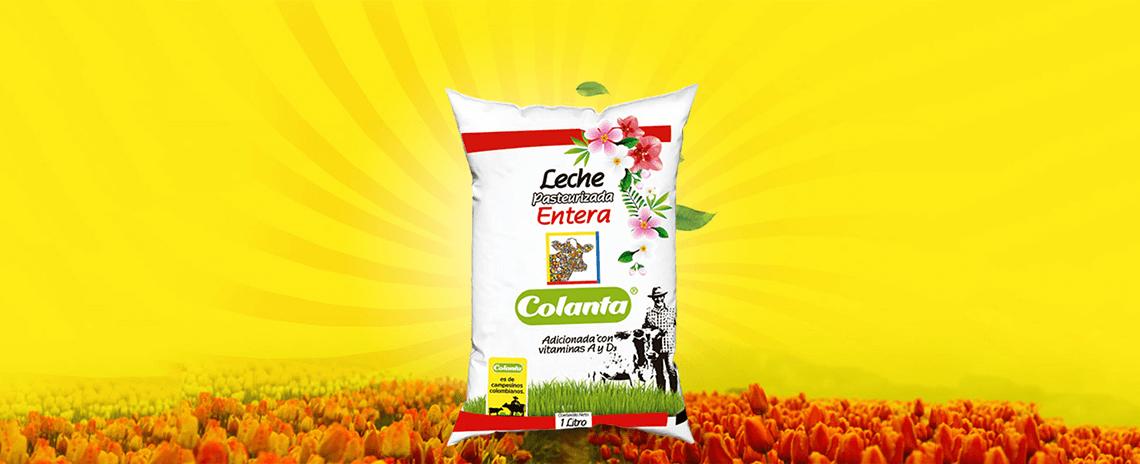 Leche COLANTA, la leche de la Feria de las Flores 2018