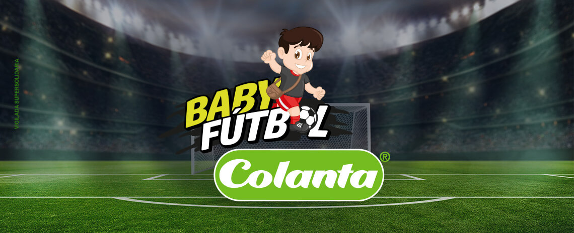 Boletín informativo Baby Fútbol Colanta