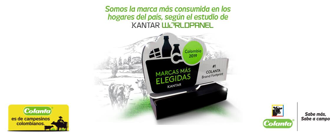 Colanta, la marca más consumida en Colombia