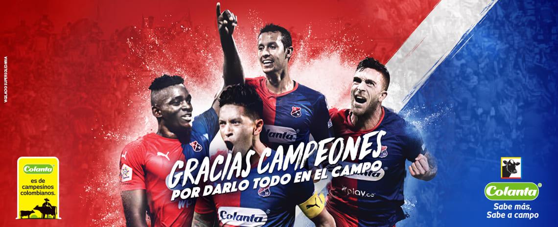 ¡Deportivo Independiente Medellín, campeón de la Copa Colombia!