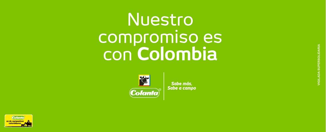 Nuestro compromiso es con Colombia