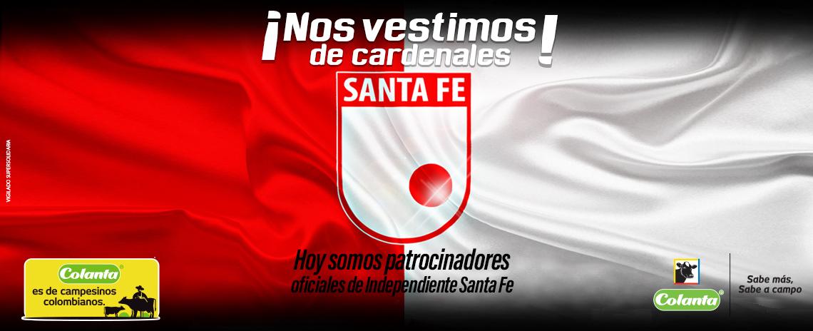 Colanta, patrocinador oficial del Independiente Santa Fe