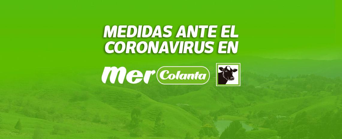 Medidas ante el coronavirus en Mercolanta