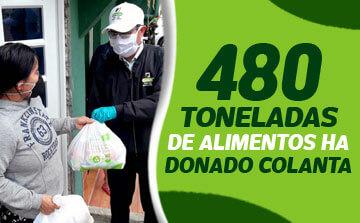 DONACION 480 TONELADAS COLANTA
