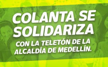 Colanta se solidariza con la Teletón de la Alcaldía de Medellín
