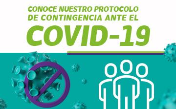 NUESTRO PROTOCOLO DE CONTINGENCIA ANTE EL COVID-19