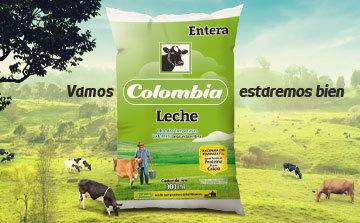 Vamos, Colombia. Estaremos bien. Colanta