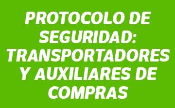 Protocolo de seguridad transportadores y auxiliares de compras banner