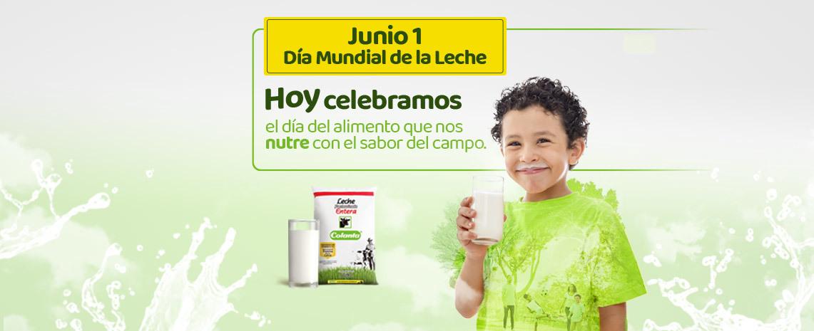 Donaciones en el día mundial de la leche