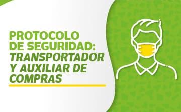 protocolo de seguridad transportador y auxiliar de compras