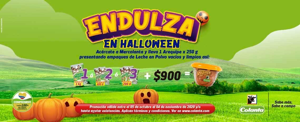 Endulza en Halloween