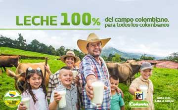 leche colanta 100% del campo colombiano