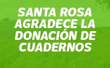 colanta donacion cuadernos santa rosa agradecimiento alcalde