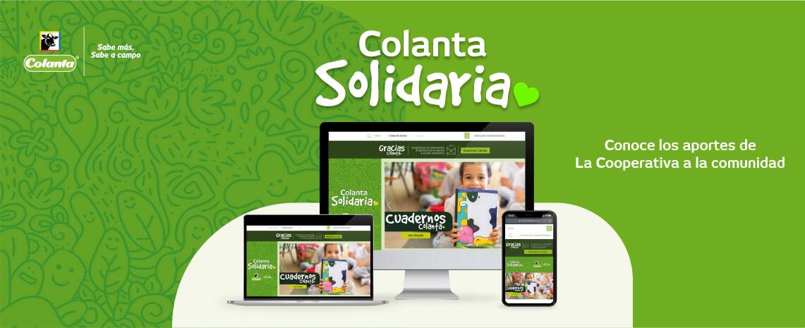 Colanta Solidaria: conoce nuestro portal de gestión social