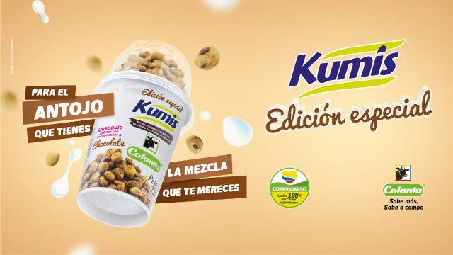 Kumis con galletas de chocolate | Edición especial