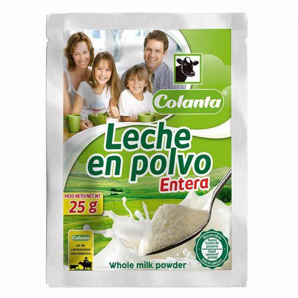 leche en polvo entera colanta