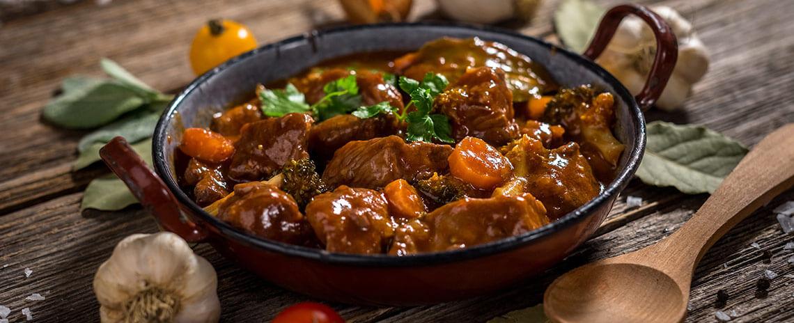 Goulash de carne