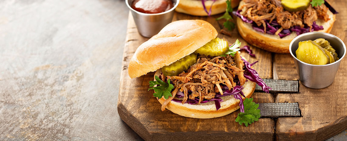 Sandwich de pulled Pork
