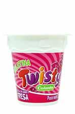 Gelatina Twisty colanta Fresa 120 g