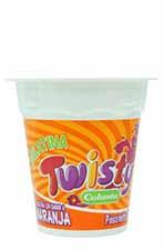 Gelatina Twisty colanta Naranja 120 g