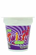 Gelatina Twisty colanta Uva 120 g