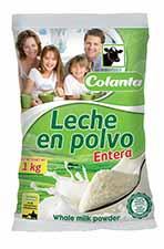 producto leche en polvo entera colanta