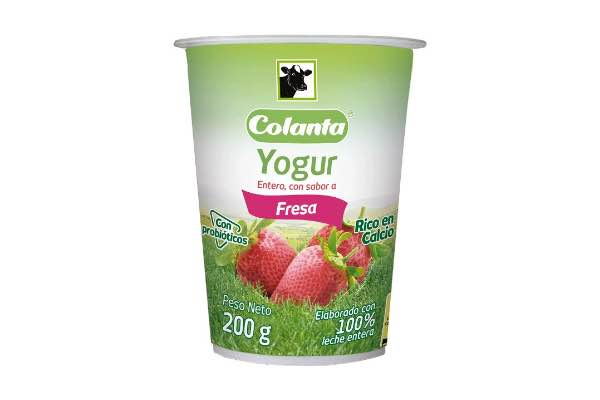 yogur frutas colanta