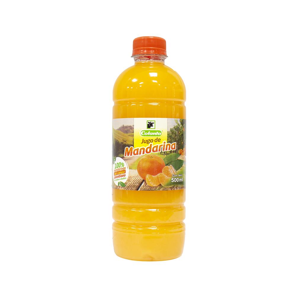 Jugo de mandarina 100% natural 1000 ml | COLANTA