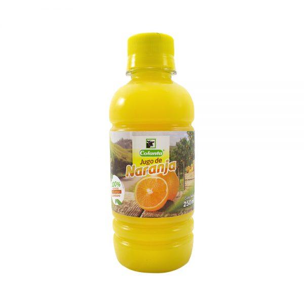 Jugo de naranja   COLANTA