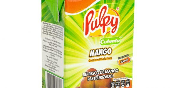 Refresco Pulpy mango 250