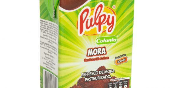 Refresco de Mora Pulpy | COLANTA